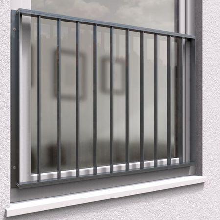 französischer Balkon Fenstergitter Aluminium