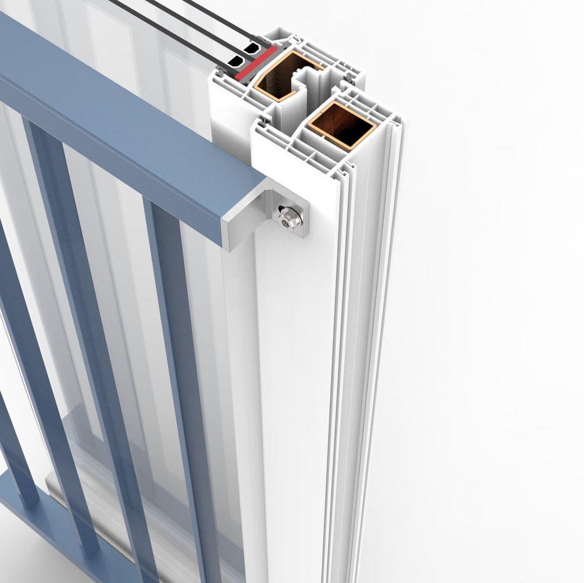 Absturzgitter Fenster Gitter Aluminium