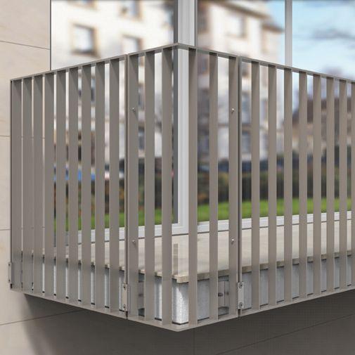 Geländer aus Stahl